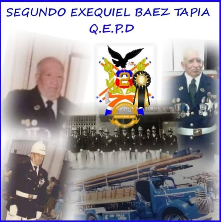 Pesar por Fallecimiento de Director Honorario de la Segunda Compañía y Primera Antigüedad del Cuerpo de Bomberos de Los Andes y Calle Larga